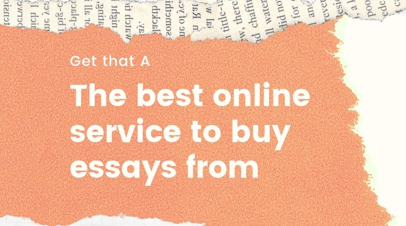 We are the best online service to buy essays from
