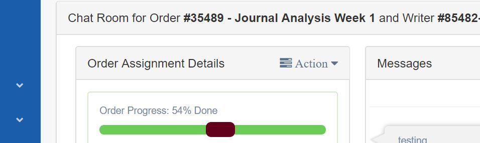Do my homework for me progress bar report