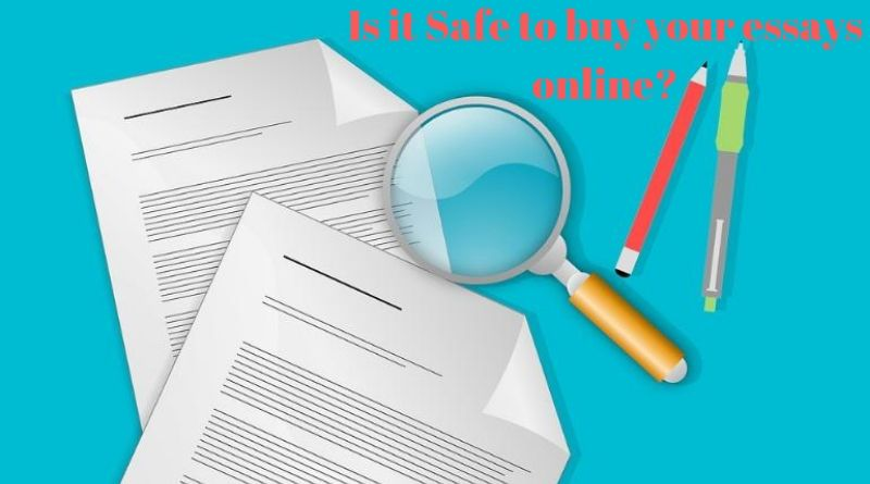 Is it Safe to Buy Essays Online