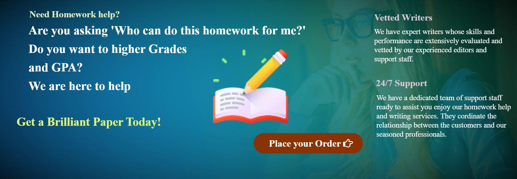 Do My Homework for me bgd