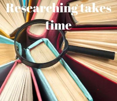 Researching from books determines how long does it take to write a 10-page paper