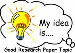 Interesting research paper idea
