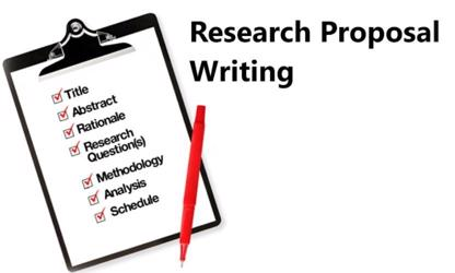 Research proposal items different research papers
