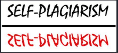 Avoid self plagiarism when you retake class