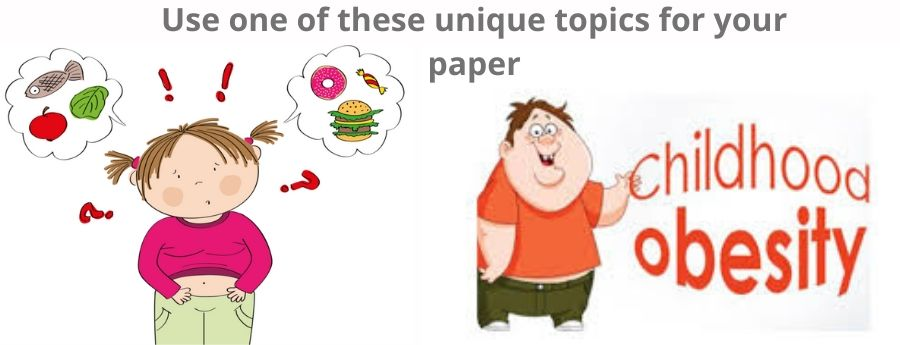 Childhood Obesity research paper topics