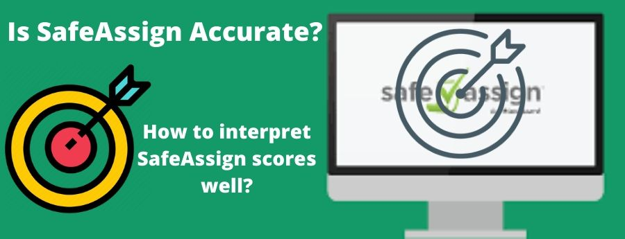 How to accurate is SafeAssign. Interprete Scores