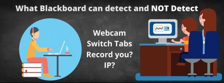 Can Blackboard Detect Cheating