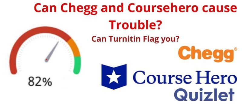 Does Turnitin check Chegg and course hero