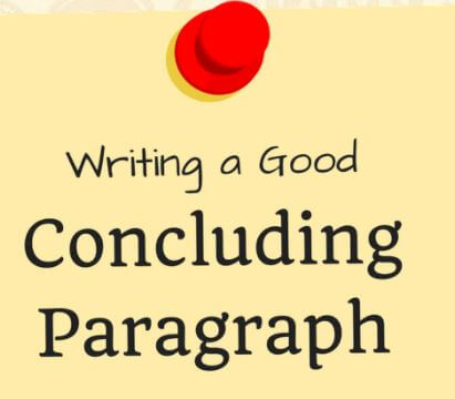 Writing good Conclusion Paragraphs
