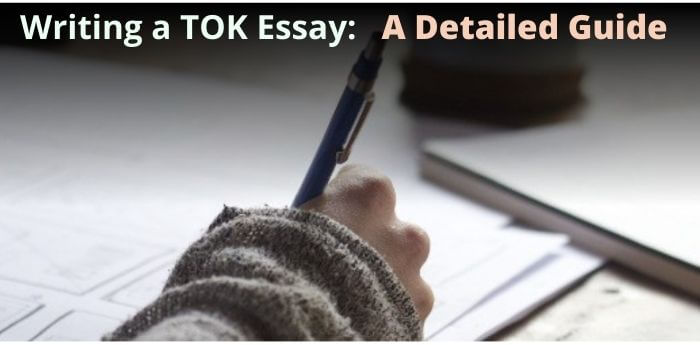 how to write a TOK essay