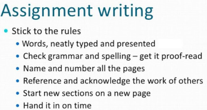 Essay Instructions dictate length